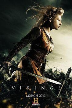 #Lagertha In Battle on #HistoryChannel #Vikings
