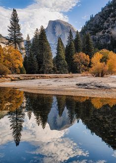 ✯ Half Dome Reflection