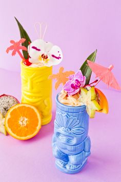 Tiki Time: Coconut Creamsicle Cocktail