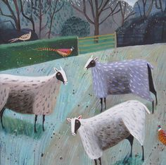 Winter Sheep by Mary Sumner