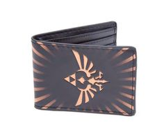 Billetera Triforce logo. Legend of Zelda Estupenda billetera basada en el video juego Legend of Zelda.
