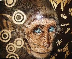 DiffuseArt - Artwork : petit singe by Sophie Wilkins