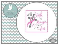 Let Your Faith Be Stronger Than Your Fear Pink by lyricalletters