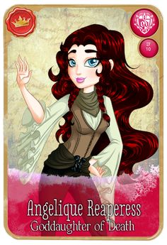 [EVER AFTER HIGH] Angelique Reaperess