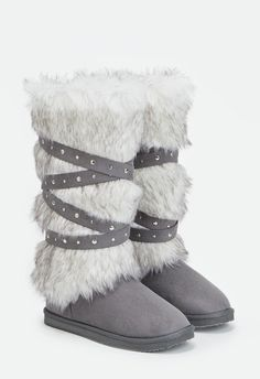 9f00f3ca42e 16 Best Fuzzy Winter Boots images in 2016 | Winter Boots, Women's ...