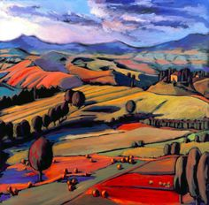Daniel Ng: Sunrise Tuscany Giclee Print Signed, Limited Edition by EssentialGlassWorks on Etsy