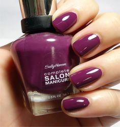 Keep it sassy with Complete Salon Manicure in Trouble Maker.