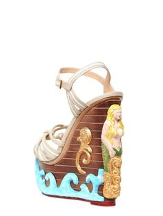 """Charlotte Olympia """"Maiden Voyage"""" wedge"""