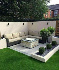 50 Awesome Modern Garden Architecture Design Ideas – Best Garden images in 2019 Modern Garden Design, Backyard Garden Design, Small Backyard Landscaping, Patio Design, Landscaping Ideas, Backyard Ideas, Patio Ideas, Garden Ideas, Backyard Designs