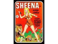 VINTAGE COMIC BOOK ART:  'SHEENA #4'
