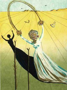 """Alice in Wonderland"" aka Dream Passage. Salvador Dali  1979"