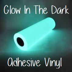 Glow In The Dark Adhesive Vinyl 12x12 by CraftSupplyCarolina