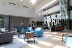Lagoon Beach Hotel lobby Hotel Lobby, Beach Hotels, Interior Architecture, Coffee Shop, Spa, Elegant, Classic, Modern, Table