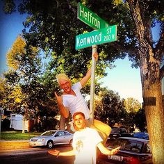"I finally understand the name ""Heffron Drive"" lol(:"