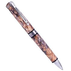 Pen - William Henry Chablis 1207 Ballpen - Box Elder Burl Wood