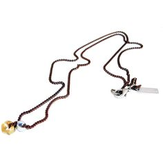 Mens bolt nuts necklace Maiden-Art ❤ liked on Polyvore featuring men's fashion, men's jewelry, men's necklaces, mens necklaces and mens watches jewelry