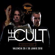The Cult se unen a 4everValenciaFest el 29 de junio. El mejor rock será de nuevo protagonista en Valencia con 4everValenciaFest. Vuelve a soñar con nosotros en La Marina de València. 4everValenciaFest mucho más que un festival. Entradas a la venta en Ticketmaster España. #4everValenciaFest #4evers #Valencia #festival #nuevaconfirmacion