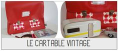 cartable vintage