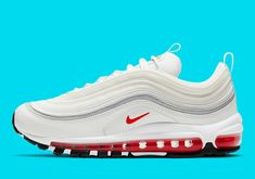 A Subtle Mix Of 2019s Shanghai Kaleidoscope Appears On The Nike Air Max 97 Air Max Sneakers, Sneakers Nike, Air Max Day, Onitsuka Tiger, Asics, Nike Air Max, Converse, Footwear, Shanghai
