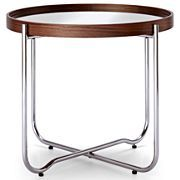 Happy Chic by Jonathan Adler Bleecker Mirrored End Table - $149 Plant stand?
