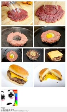 sign me up for a heart attack that looks like a good egg burger