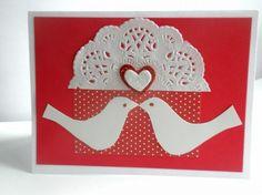 Love Birds Valentines Day Card