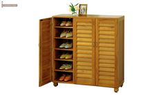 Buy Shoe Storage Online from a Wide Range of wooden Shoe Racks & Cabinets with Compact and large variants ⭐UPTO OFF with ⭐Free Delivery & Assembly⭐ Across India. Furniture, Wooden Street, Wooden Cabinets, Bedroom Furniture Online, Closet Shoe Storage, Wooden Shoe Cabinet, Tall Cabinet Storage, Rack Design, Wooden Shoe Racks
