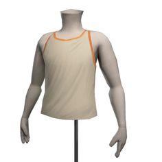 Retro Fitness Vest - White