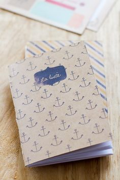 DIY – Des petits carnets, little french notebook printable