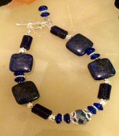 Ancient Egypt Blue stone  Lapis Lazuli  by BranstoneMagicMaster, $45.00