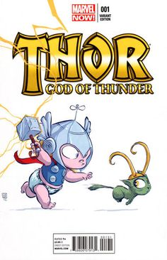 Skottie Young: Thor: God of Thunder #1