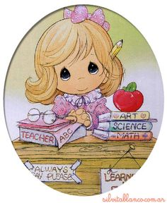 Serie Maestras | Profesores | Precious Moments | Tamano Grande XL
