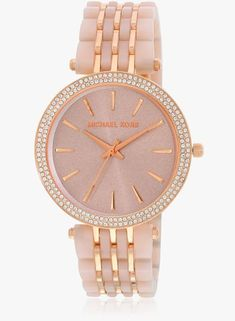 Michael Kors Darci Mk4327i Two Tone/Rose Gold Analog Watch #Michael Kors #RoseGold #AnalogWatch