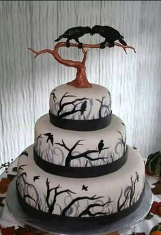 Edgar Allen Poe. Nevermore My soon to be birthday cake