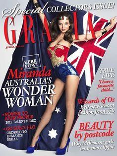 Grazia cover