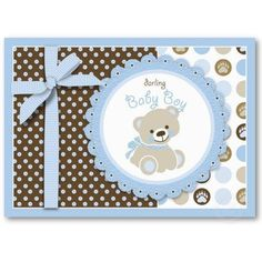 Boy teddy bear baby shower invitation card cards for men pin Baby Boy Cards Handmade, New Baby Cards, Greeting Cards Handmade, Bow Baby Shower, Teddy Bear Baby Shower, Baby Shower Invitation Cards, Baby Shower Invitations For Boys, Invitation Ideas, Baby Boy Announcement