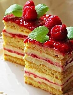 Czech Recipes, Ethnic Recipes, Cake Recipes, Dessert Recipes, Vanilla Cake, Waffles, Cheesecake, Deserts, Sweets