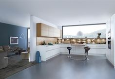 Beton › Modern Style › Küchen › Küchen   Marken-Einbauküchen der LEICHT Küchen AG