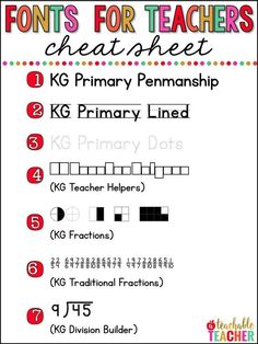 Printing teacher hacks - fonts for teachers | teaching tips | teaching fonts | creating printables | creating worksheets | worksheets diy | make your own worksheets | teaching plan | lesson planning | plan school year | teacher printables | free printable | teacher resources create worksheets creat classroom printables making homework assignments tracing letters tracing sentences kindergarten writing first grade fonts teaching fonts