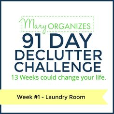 Good decluttering plan for when you are thinking of moving or as regular once a year maintenance...