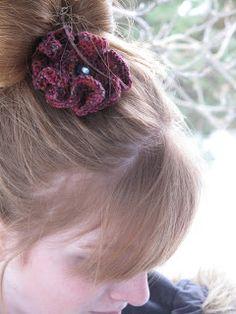 Knit Cookies Knits: Knit flower tutorial