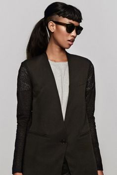 The Easiest Way To Look Sharp This Summer #refinery29  http://www.refinery29.com/blazers#slide30