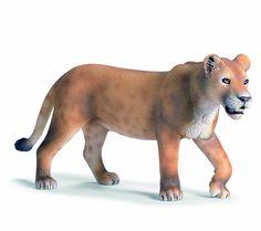 Schleich 14363 - Figura/ miniatura La vida silvestre, leona, caminar: Amazon.es: Juguetes y juegos