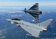The Eurofighter Typhoon is twin engine, canard-delta wing air superiority, multi-role fighter aircraft with surface attack capability manufactured by Alenia Aermacchi, Airbus Group and BAE Systems. The majority of its activities are conducted through a joint holding company named Eurofighter Jagdflugzeug GmbH, which was formed in 1986.
