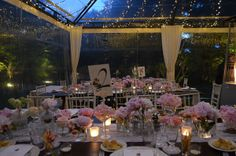 #marquee #wedding #tablescape
