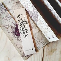 I SOLEMNLY SWEAR - Harry Potter bookmark range.