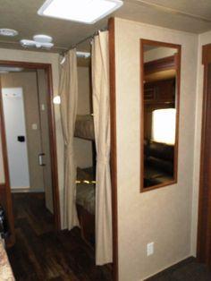 bunk beds....living quarters horse trailer | ... AL 4 Horse 14′ Living Quarters Trailer with Bunk Beds | NRS Trailers