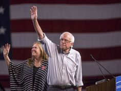 A majority of Democrats say presidential candidate Bernie Sanders should stay in the race through the party's national convention in Philadelphia in July, a new poll finds. Fifty-seven percent of Democrats said Sanders should stay...