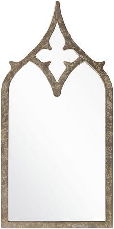 Surya Wall Decor Wall Mirror in Gold design by Surya