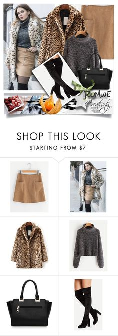 """""""ROMWE X/8"""" by creativity30 ❤ liked on Polyvore featuring romwe"""